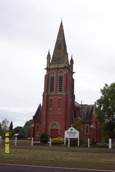 23498 St Michael s Lutheran Complex Tarrington church 0953