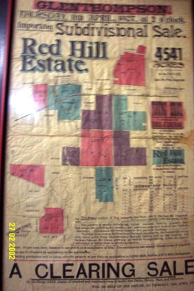 23418 Stirling Homestead Glenthompson sale plan 1695