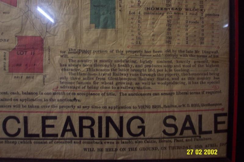 23418 Stirling Homestead Glenthompson sale plan 1696