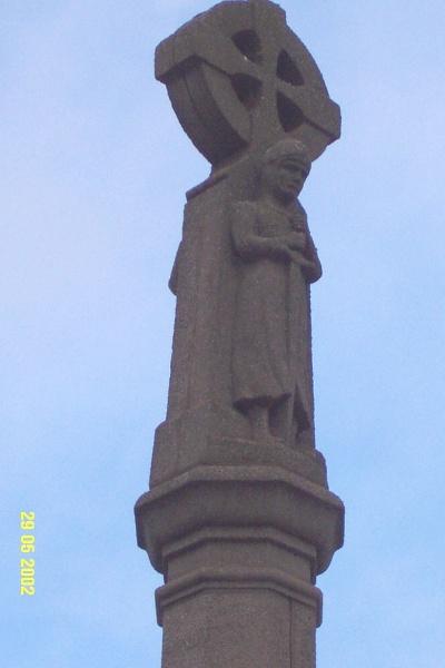 23174 War Memorial Glenelg Hwy Glenthompson statuette 1046