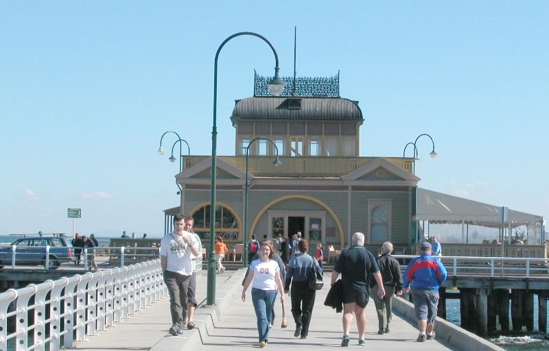 St Kilda Pier Port Melbourne April 2003 004