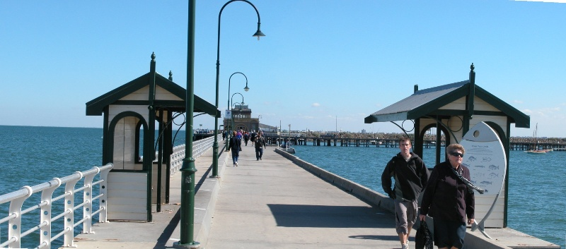 St Kilda Pier Port Melbourne April 2003 006