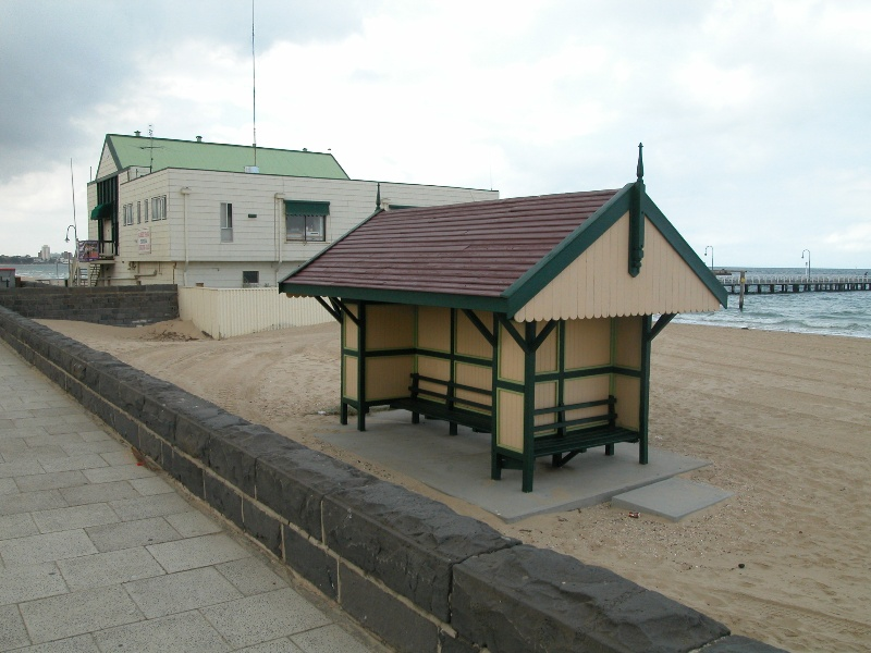 Kerford Road Pier Port Melbourne March 2003 Shelter Shed 005