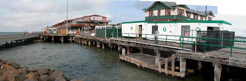 Station Pier Port Melbourne July 2003 Eastern Landing