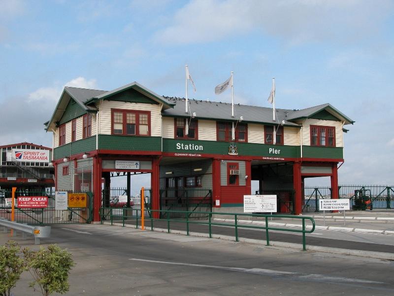 Station Pier Port Melbourne July 2003 Gatehouse