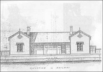 Elevation of the Station
