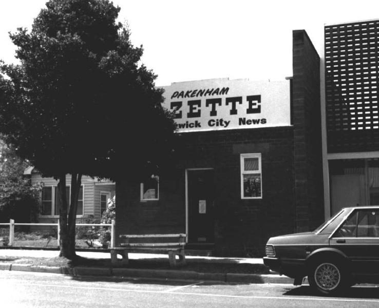 Pakenham Gazette Berwick City News Offices