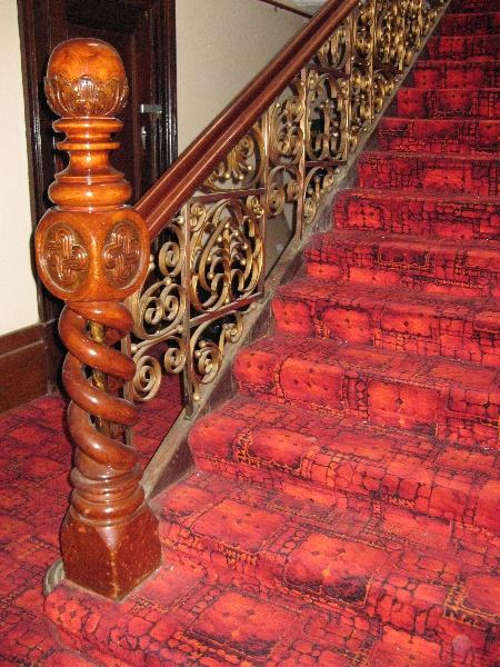 Bull & Mouth_Maryborough_stair detail_KJ_8 Nov 07