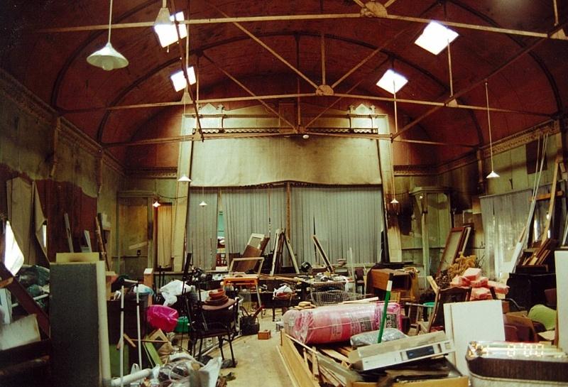 Mirboo on Tarwin Mechanics' Institute and Free Library interior