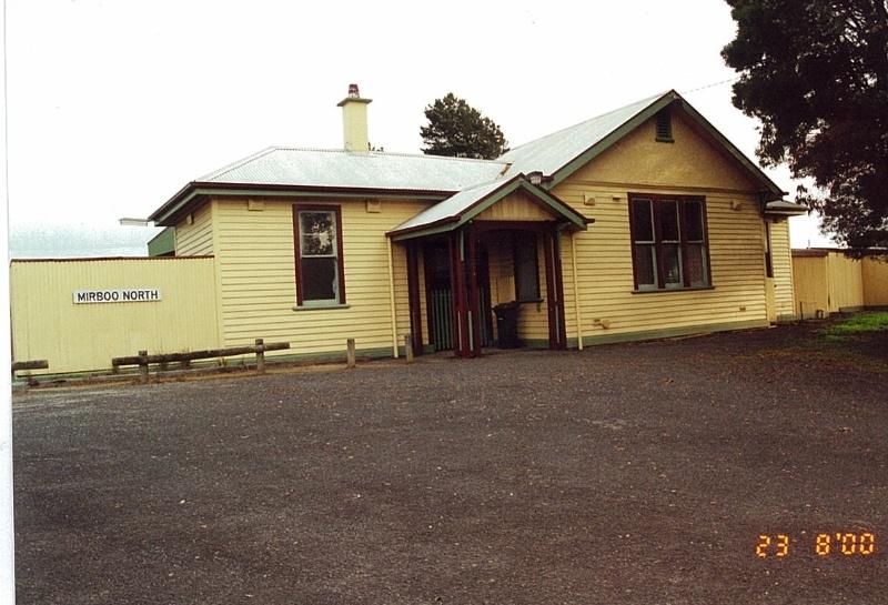 Mirboo North Railway Station (former)