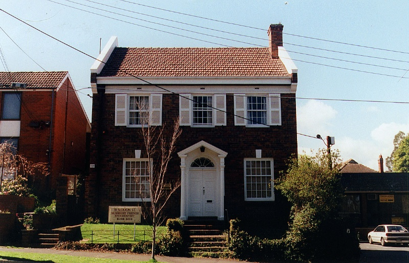 OFFICE AND DWELLING