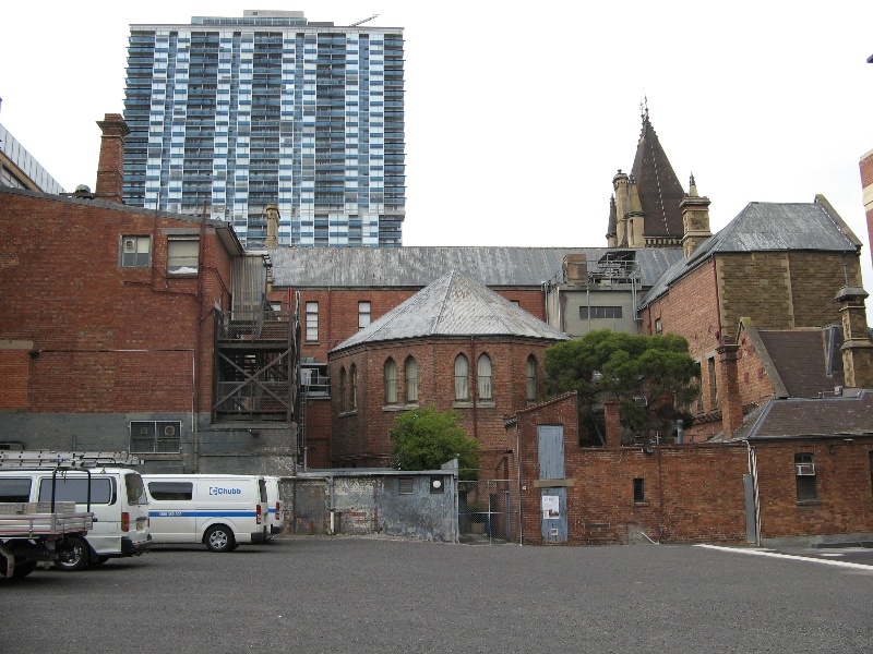 Francis Ormond Bldg_Melbourne_rear view_8 Jan 2008