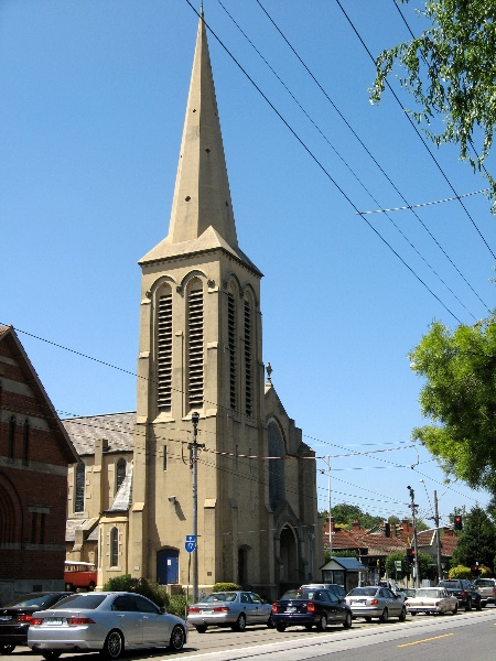 H2158 St Mark s Church from Burke Rd