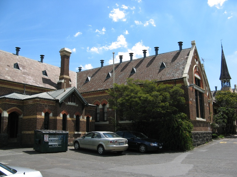 Glenferrie PS_1877 (R) & 1881 wing (L)_27 Oct 07