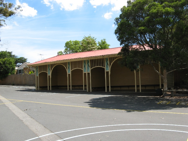 Glenferrie PS_shelter shed_27 Oct 07