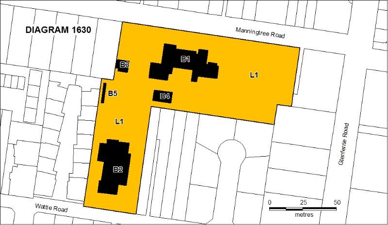 Glenferrie PS extent plan