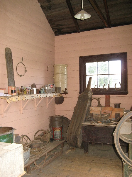 Interior - outbuilding west wing. Aug 2007.