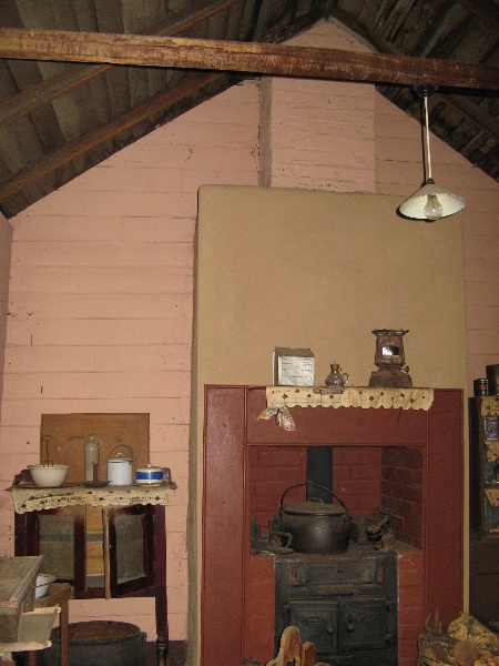 Interior - outbuilding east wing. Aug 2007.