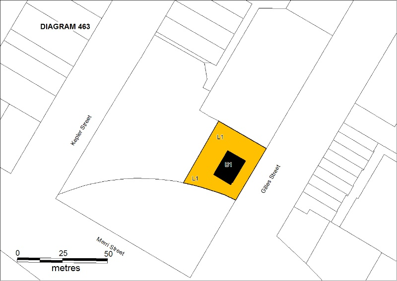 PROV H463 Warrnambool Customs House Plan