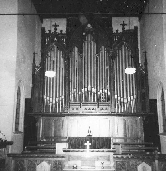 Merklin organ when in Cato Church