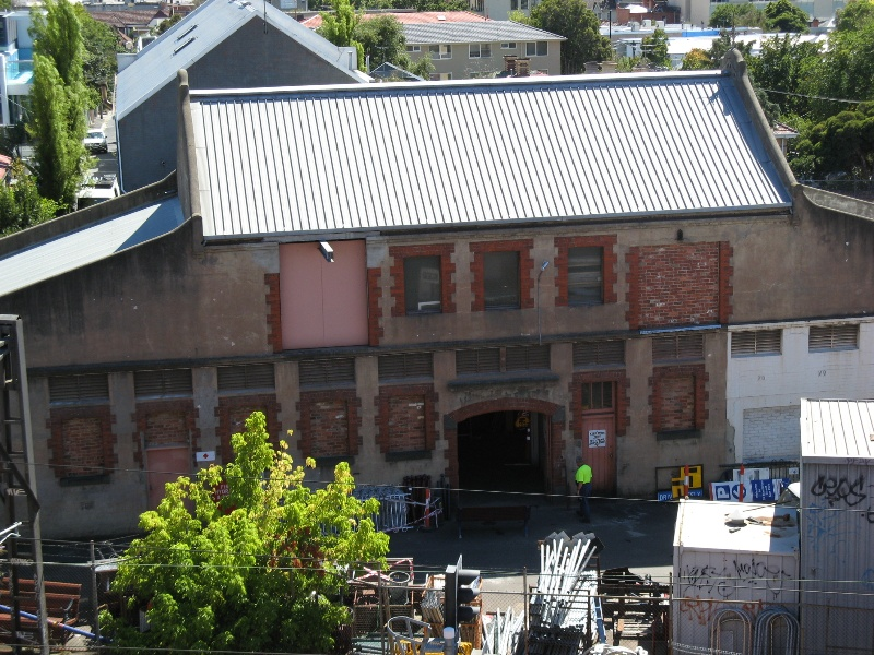 Municipal stables Sth Yarra_south side_18 Feb 08