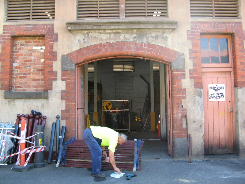 Municipal stables Sth Yarra_entrance_18 Feb 08