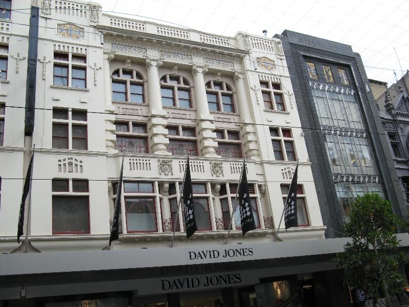David Jones_1912 building & mens store_16/1/08