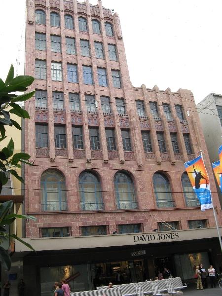 DJs former Coles_front facade_16 Jan 08