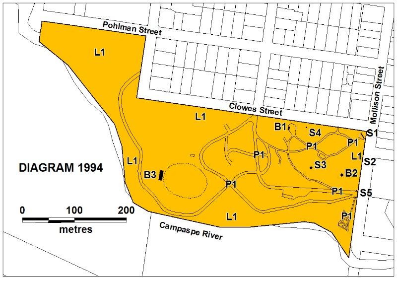 H1994 Kyneton Botanic Gdns Plan