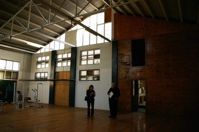 H2170 St Vincent de Paul Boys Orphanage gymnasium interior