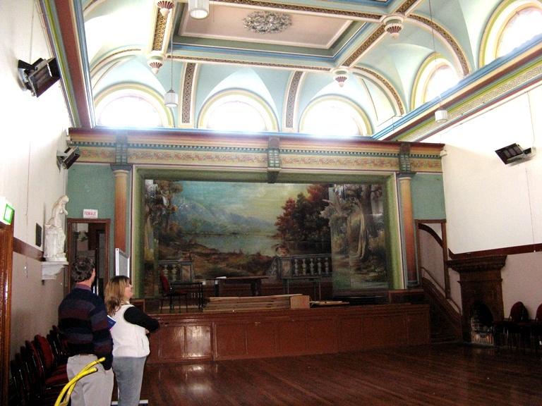 H2180 Clunes Town Hall - Main Hall