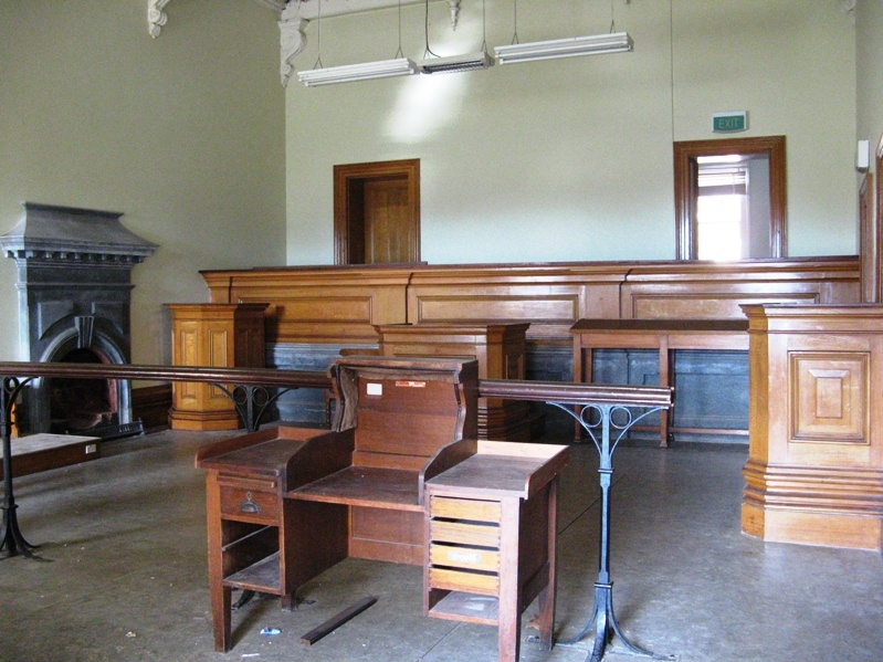 H2180 Clunes Court House - Court Room
