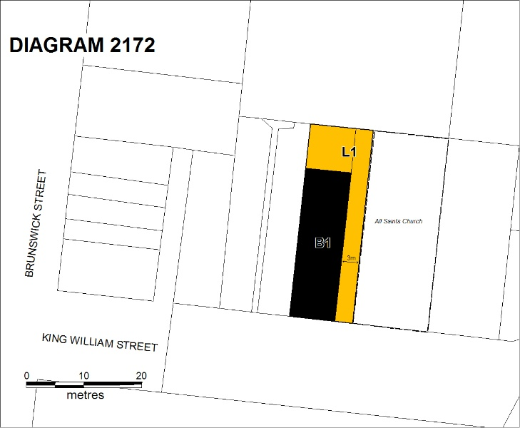 H2172 all saints hall plan