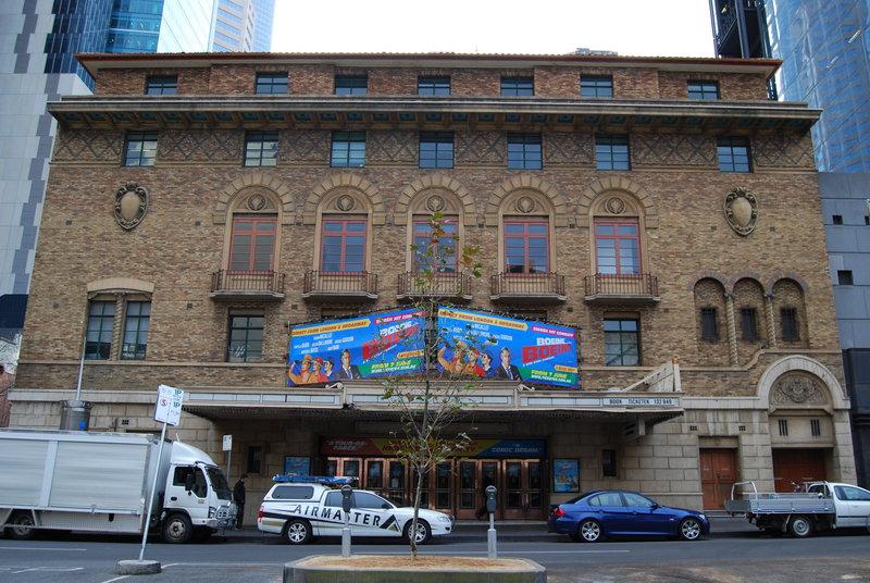 2665 Comedy Theatre 228 240 Exhibition St Facade 3