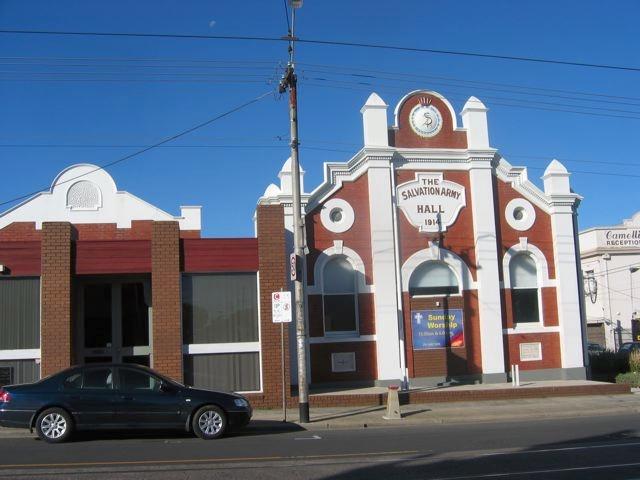 Salvation Army Hall, 710 High Street, Thornbury
