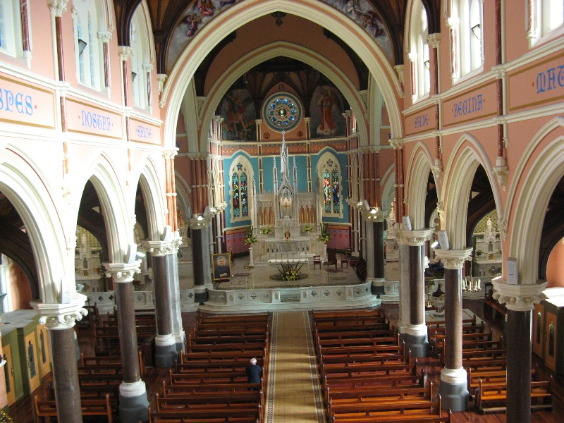 St Mary Star of the Sea_West Melbourne_nave_KJ_27/6/08