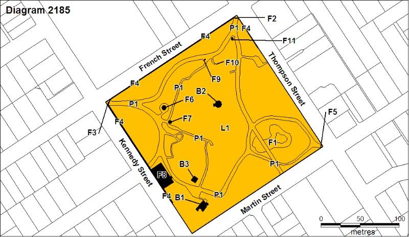 H2185 Hamilton Botanic Gardens Plan August 2008 mz