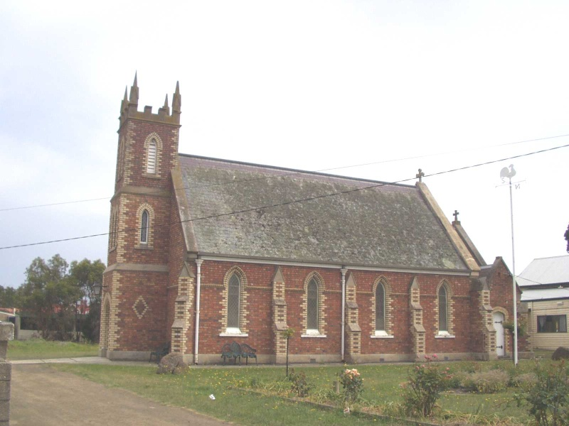 St James Anglican Church, Drysdale - Exterior Side View