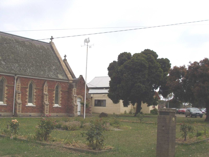 St James Anglican Church, Drysdale - Exterior Rear View