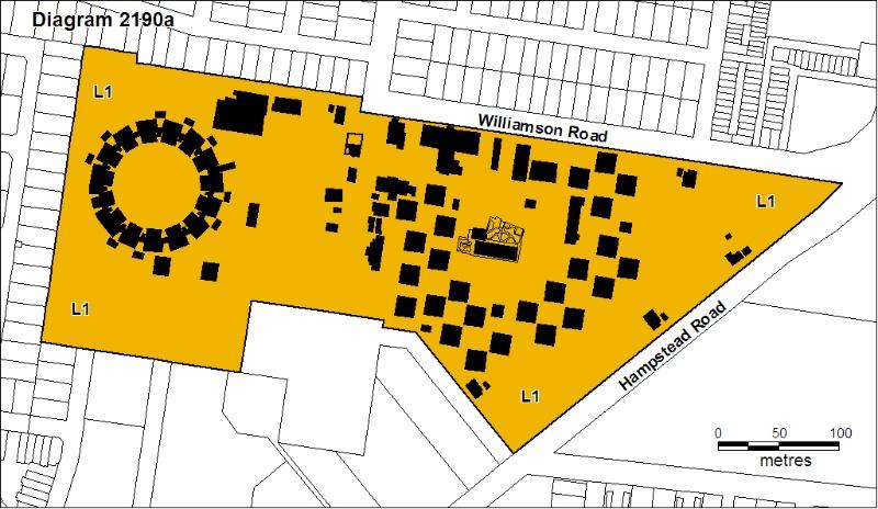 Former Maribyrnong Migrant Hostel Sept 2008 mz Plan A