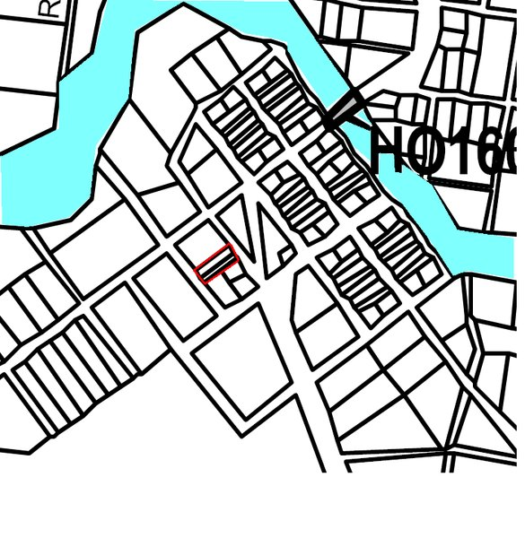 52353 Hotspur Hall map