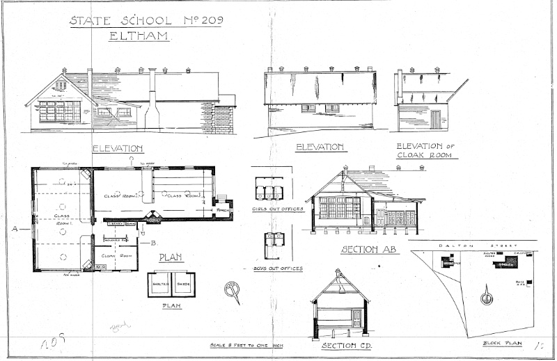 50 - Eltham Primary School Dalton St_04 - Shire of Eltham Heritage Study 1992