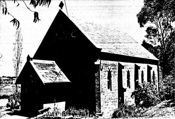 63 - Presbyterian Church Eltham Yarra Glen Rd - Shire of Eltham Heritage Study 1992