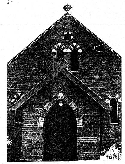 63 - Presbyterian Church Eltham Yarra Glen Rd_08 -Shire of Eltham Heritage Study 1992