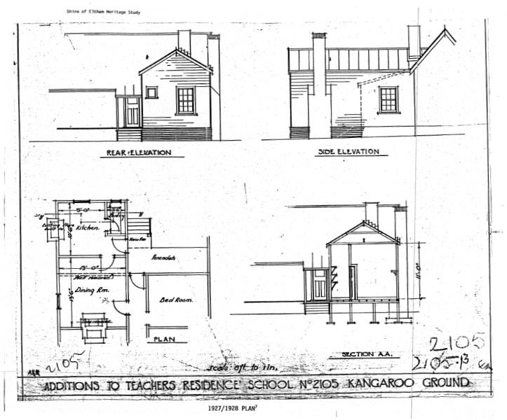64 - Kangaroo Primary State School Elth Yarr Glen Rd_05 - Shire of Eltham Heritage Study 1992