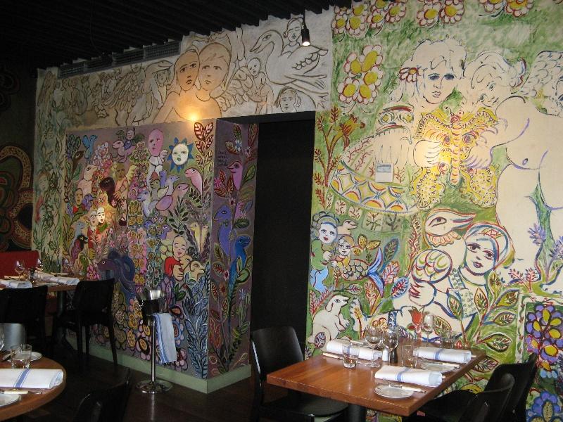 Mirka at Tolarno_St Kilda -restaurant mural_KJ_13 Oct o8