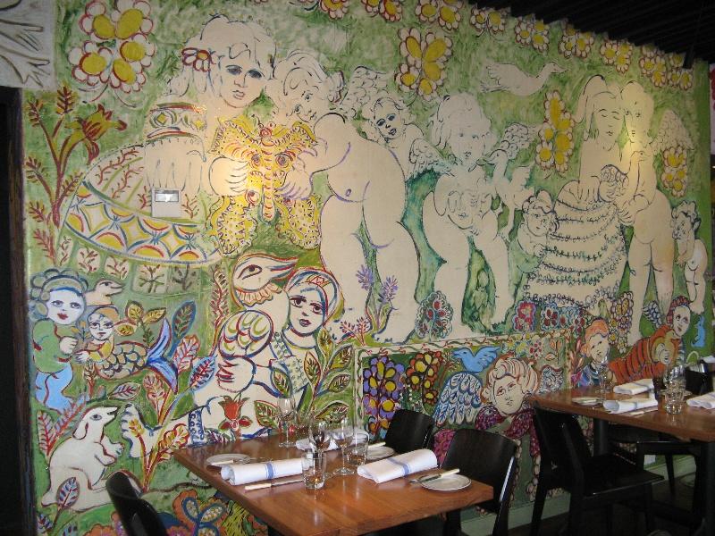 Mirka at Tolarno_St Kilda _restaurant mural_KJ_13 Oct o8