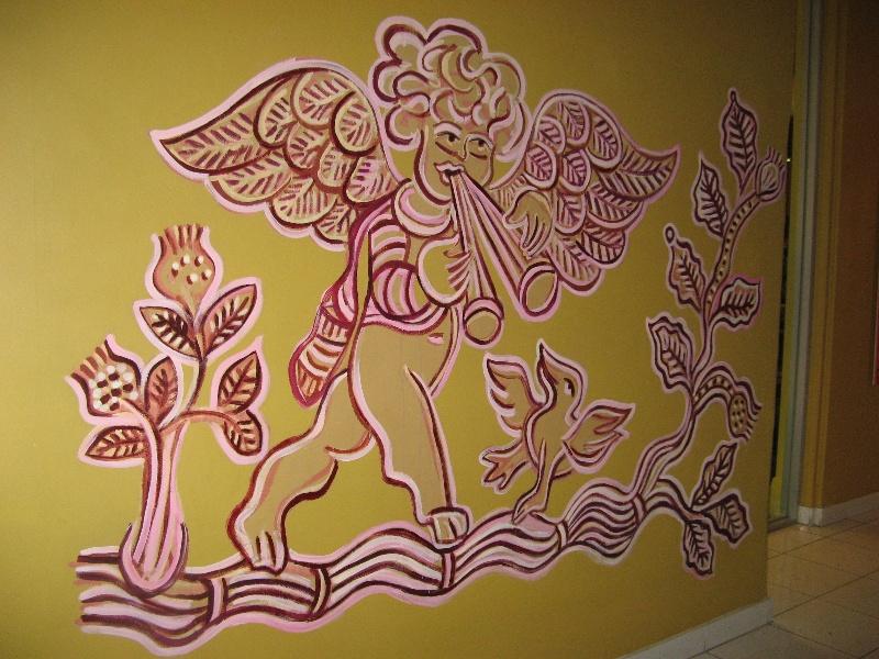 Mirka at Tolarno_St Kilda_hall mural_KJ_13 Oct o8