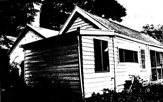 69 - Garden Hill Shearing Shed Elth Yarra Glen Rd - Shire of Eltham Heritage Study 1992