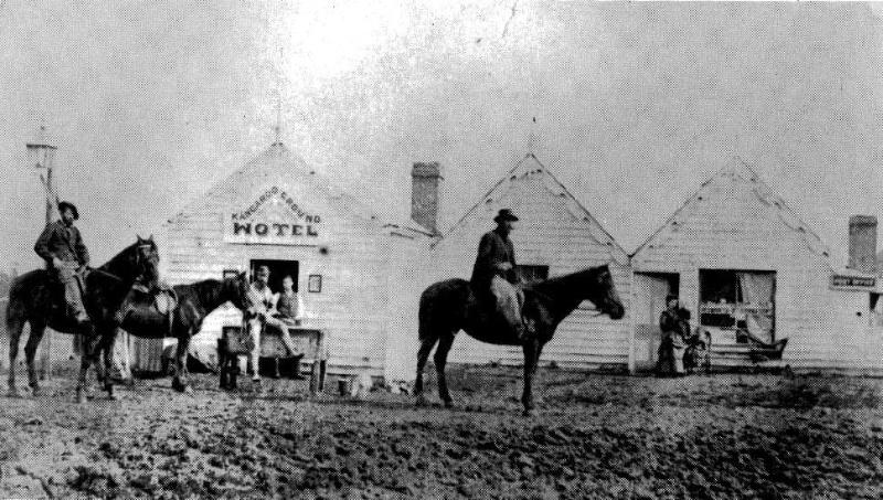 166 - St Andrews Hotel Palm KangGround St Andrews Rd 04 - The demolished Kangaroo Ground Hotel was a similarly evolved building (ELHPC NO.??) - Shire of Eltham Heritage Study 1992